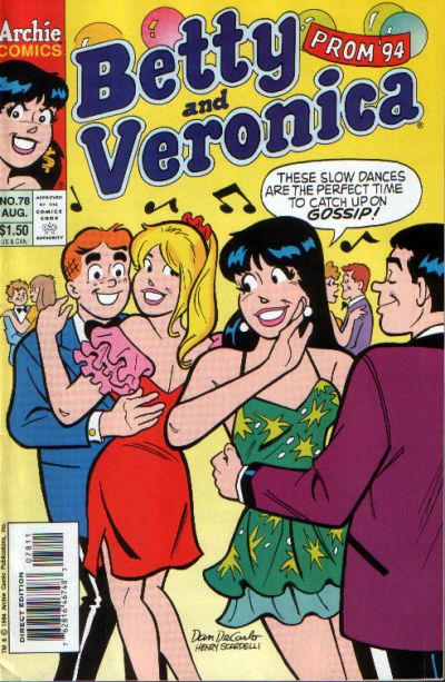 Cover for Betty and Veronica (Archie, 1987 series) #78