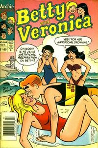 Cover Thumbnail for Betty and Veronica (Archie, 1987 series) #104 [Canadian]