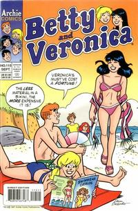 Cover Thumbnail for Betty and Veronica (Archie, 1987 series) #115