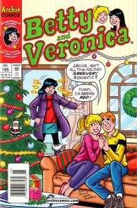 Cover Thumbnail for Betty and Veronica (Archie, 1987 series) #195 [Newsstand]