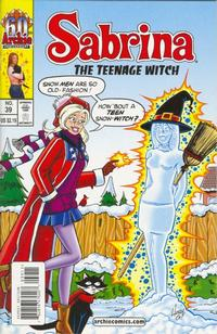 Cover Thumbnail for Sabrina the Teenage Witch (Archie, 2003 series) #39