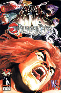 Cover Thumbnail for Battle of the Planets / ThunderCats (Image, 2003 series) #1 [Cover 1]