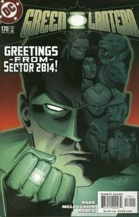 Cover Thumbnail for Green Lantern (DC, 1990 series) #170