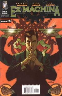 Cover Thumbnail for Ex Machina (DC, 2004 series) #5
