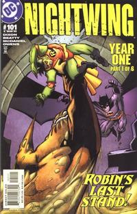 Cover Thumbnail for Nightwing (DC, 1996 series) #101