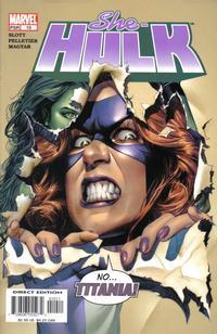 Cover Thumbnail for She-Hulk (Marvel, 2004 series) #10