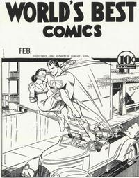 Cover Thumbnail for World's Best Comics [ashcan] (DC, 1940 series) #[nn]
