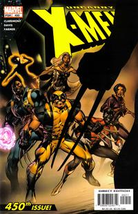 Cover for The Uncanny X-Men (Marvel, 1981 series) #450 [Direct Edition]