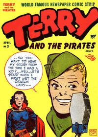 Cover Thumbnail for Terry and the Pirates Comics (Harvey, 1947 series) #3