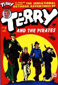 Cover Thumbnail for Terry and the Pirates Comics (Harvey, 1947 series) #7