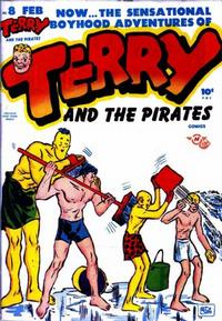 Cover Thumbnail for Terry and the Pirates Comics (Harvey, 1947 series) #8