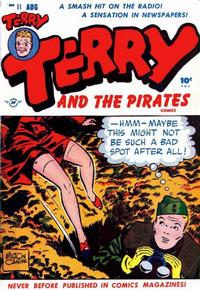 Cover Thumbnail for Terry and the Pirates Comics (Harvey, 1947 series) #11