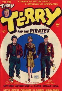 Cover Thumbnail for Terry and the Pirates Comics (Harvey, 1947 series) #12