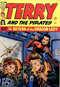 Cover Thumbnail for Terry and the Pirates Comics (Harvey, 1947 series) #17