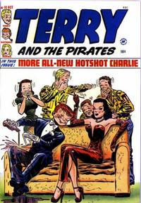 Cover Thumbnail for Terry and the Pirates Comics (Harvey, 1947 series) #18