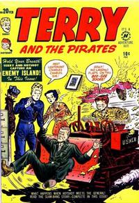 Cover Thumbnail for Terry and the Pirates Comics (Harvey, 1947 series) #20