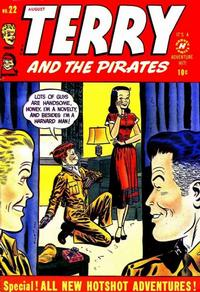 Cover Thumbnail for Terry and the Pirates Comics (Harvey, 1947 series) #22