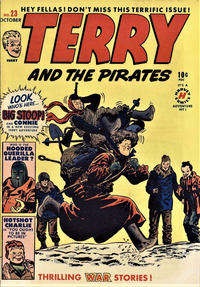 Cover Thumbnail for Terry and the Pirates Comics (Harvey, 1947 series) #23
