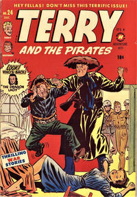 Cover Thumbnail for Terry and the Pirates Comics (Harvey, 1947 series) #24