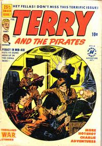Cover Thumbnail for Terry and the Pirates Comics (Harvey, 1947 series) #25