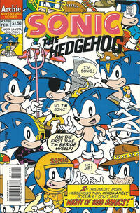 Cover Thumbnail for Sonic the Hedgehog (Archie, 1993 series) #19