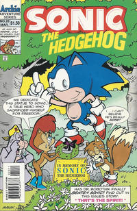 Cover Thumbnail for Sonic the Hedgehog (Archie, 1993 series) #20