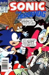 Cover Thumbnail for Sonic the Hedgehog (Archie, 1993 series) #22