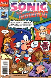 Cover Thumbnail for Sonic the Hedgehog (Archie, 1993 series) #28