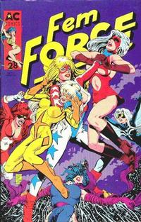 Cover Thumbnail for FemForce (AC, 1985 series) #28