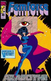 Cover Thumbnail for FemForce (AC, 1985 series) #45
