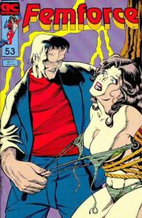Cover Thumbnail for FemForce (AC, 1985 series) #53