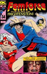 Cover Thumbnail for FemForce (AC, 1985 series) #54