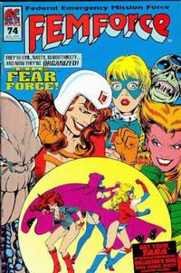 Cover Thumbnail for FemForce (AC, 1985 series) #74