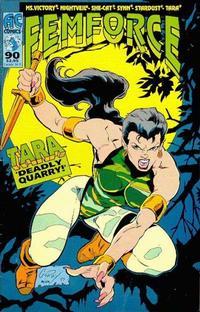 Cover Thumbnail for FemForce (AC, 1985 series) #90