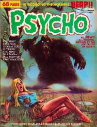 Cover Thumbnail for Psycho (Skywald, 1971 series) #2