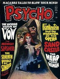 Cover Thumbnail for Psycho (Skywald, 1971 series) #6