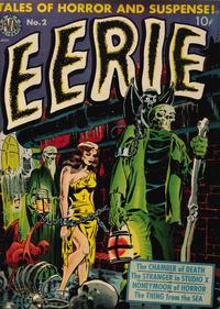 Cover Thumbnail for Eerie (Avon, 1951 series) #2