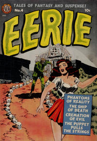 Cover Thumbnail for Eerie (Avon, 1951 series) #4