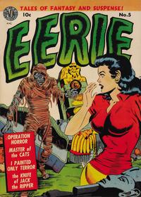 Cover Thumbnail for Eerie (Avon, 1951 series) #5