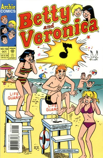 Cover for Betty and Veronica (Archie, 1987 series) #152
