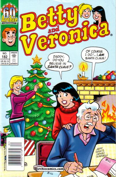 Cover for Betty and Veronica (Archie, 1987 series) #182 [Newsstand]