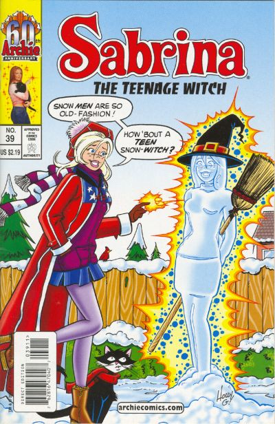 Cover for Sabrina the Teenage Witch (Archie, 2003 series) #39