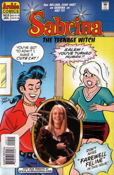 Cover for Sabrina the Teenage Witch (Archie, 1997 series) #9 [Newsstand]