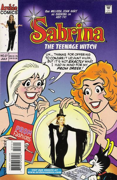 Cover for Sabrina the Teenage Witch (Archie, 1997 series) #27