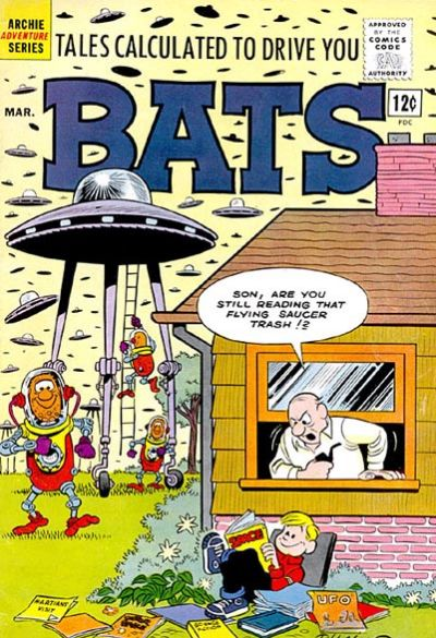Cover for Tales Calculated to Drive You Bats (Archie, 1961 series) #3