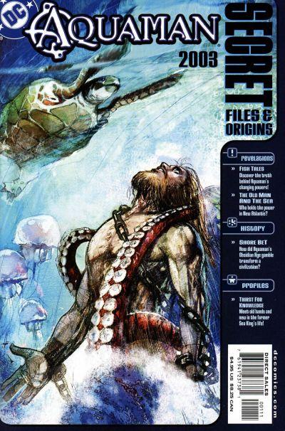 Cover for Aquaman Secret Files 2003 (DC, 2003 series)