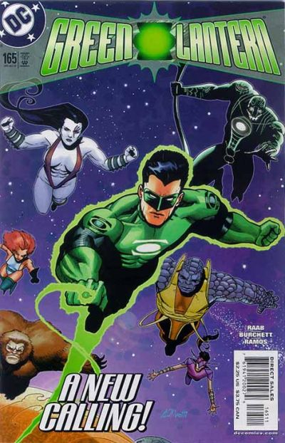 Cover for Green Lantern (DC, 1990 series) #165