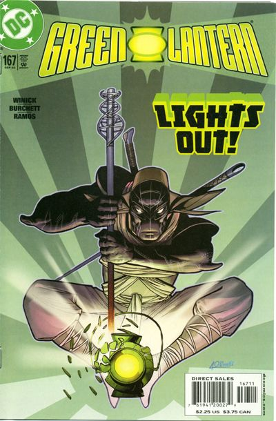 Cover for Green Lantern (DC, 1990 series) #167 [Direct Sales]