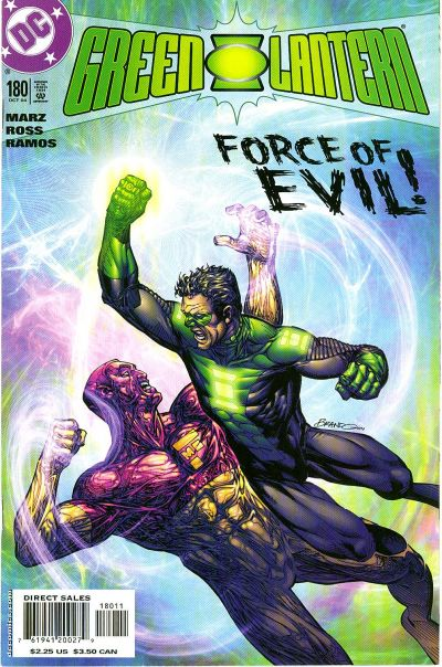 Cover for Green Lantern (DC, 1990 series) #180