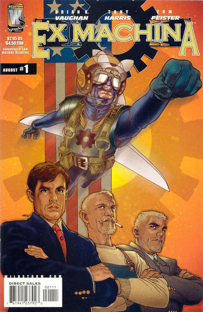 Cover for Ex Machina (DC, 2004 series) #1